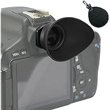 First2savvv DSLR Conchiglia Oculare Mirino Ottico per per Canon EOS 1300D 100D 1200D 1100D 1000D 550D 500D 450D DSLR Camera + borse obiettivo UV - QJQ-TX-P-EF-BP01UV