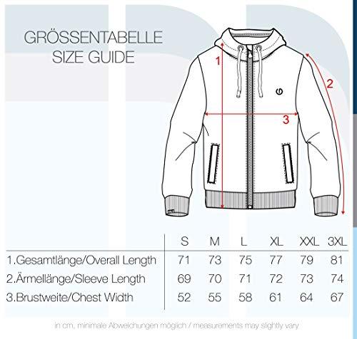 !Solid Loki Herren Fleecejacke Sweatjacke Jacke Mit Kapuze Und Daumenlöcher, Größe:S, Farbe:Mid Grey (2842) - 5