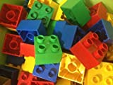 Lego Duplo 40 Steine vers. Farben 2 x 2 Noppen 4er Stein Legostein Duplostein Set 601