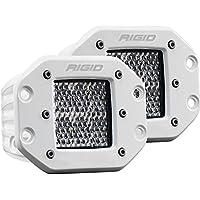 Rigid Industries D-Series PRO Specter-Diffused LED - Flush Mount - Pair - White
