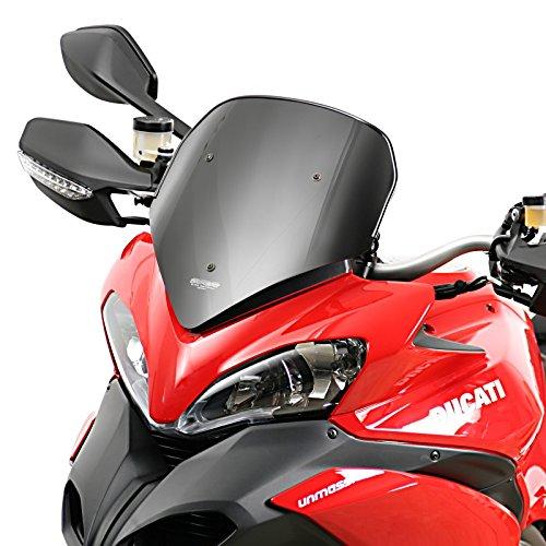 Sportscheibe MRA Ducati Multistrada 1200/S 10-12 schwarz