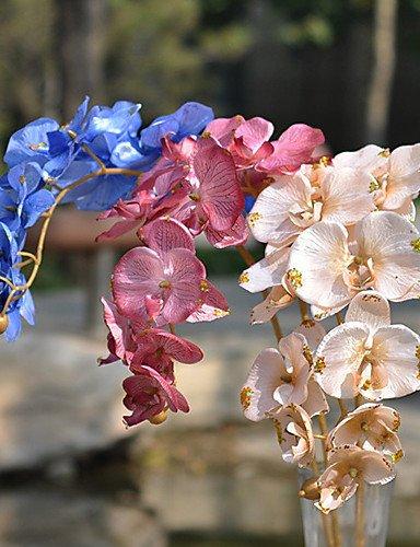 HUAHUA,Künstliche Blumen, Seide / Kunststoff Orchideen Künstliche Blumen , pink