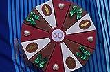 Tolle Torte 39 Geldgeschenkverpackung aus Papier zum 60. Geburtstag, Geld verschenken, Geschenkverpackung