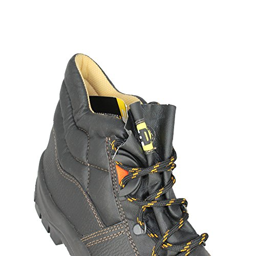 Edis a-junior baustiefel chaussures de sécurité s1P chaussures de sécurité noir) Noir - Noir