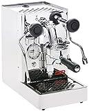 Lelit PL62S - Cafetera de espresso manual, color plateado