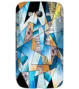 SAMSUNG GALAXY GRAND DIAMOND CUTS Back Cover by PRINTSWAG