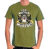 HEARTHSTONE - T-Shirt Your Mother Was a Murloc (XL) : TShirt , ML