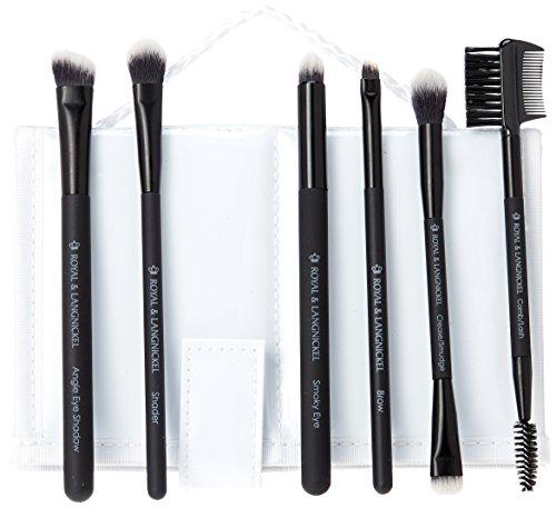 Royal Brush Moda Beautiful Eyes Brush Set and Case, Black by ROYAL BRUSH