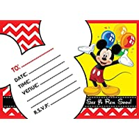 Amazon Co Uk Mickey Mouse Invitations Party Supplies Toys Games