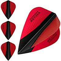 HARROWS retina-x Dart Flights–5sets (15)–100micron Extra Stark–Kite–Rot