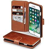Coque Cuir iPhone 8 Plus / iPhone 7 Plus, Terrapin Étui Housse en Cuir Véritable...