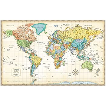 Buy total homerand mcnally world map50 32 classic edition total homerand mcnally world map50 32 classic gumiabroncs Choice Image