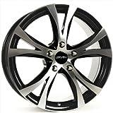 CARMANI 09 Compete black polish 6,5x16 ET38 5.00x100 Hub Bore 63.40 mm - Alu felgen