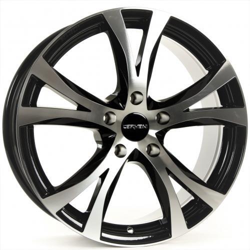 CARMANI 09 Compete black polish 7x16 ET35 5.00x120 Hub Bore 72.60 mm - Alu felgen