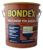 Bondex Holzlasur für Aussen 726 Kastanie 2,5 Liter