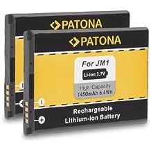 2x PATONA Batteria JM1 per Blackberry Bold 9900 Bold 9790 Curve 9380 Storm 3 Torch 9850 3014 9930 Torch 9860