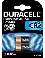 Duracell CR17355 High Power Lithium CR2 Battery, CR15H270, 3 V, Pack of 2