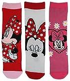 Die besten Disney Mädchen Socken - Disney Mädchen-Socken mit Minnie-Maus-Motiv, aus Baumwolle, 3 Paar Bewertungen