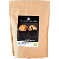 Organic White Bread Mix, Gluten Free, Dairy Free, Wheat Free, Preservative Free, 560g, Bakes 11 Bread Rolls or 2 Loaves, Suitable for Low Fodmap Diets, The Grass Roots Bakery, 2018 Great Taste Award Winner
