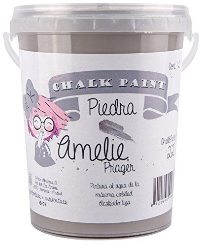 Amelie Prager 1000-22 Pintura a la Tiza chalk , Piedra, 1 l