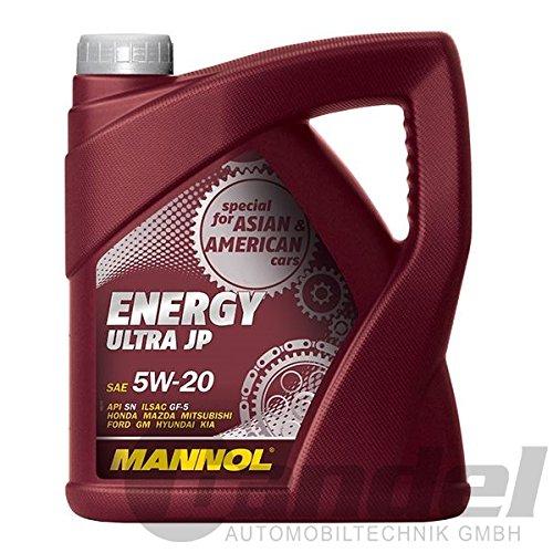 MANNOL Energy Ultra JP 5W-20 API SN Motorenöl, 4 Liter