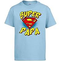Diver Camisetas Camiseta Súper Papá Logo Superman