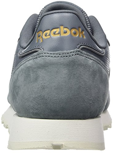 Reebok Classic Leather Alr, Sneakers Basses Homme, Schwarz/Gold (Black/Chalk/Ashgry/Brass) Gris (Asteroid Dust/chalk/baseball Grey/rbk Brass)