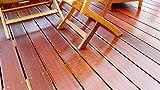 Gartenmöbelöl & Terrassenöl farblos seidenmatt | BEKATEQ BE-213 Gartenmöbel Öl für Holztisch Pflege, Holzmöbel ölen | Holzpflegeöl für Teakholz Pflege, Eukalyptus Pflege, Lärchenholz, Douglasienholz uvm. (10L)