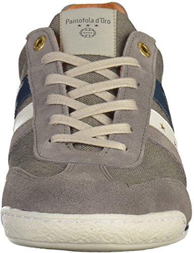 Pantofola d'Oro Herren Vasto Denim Uomo Low Schuhe Grau