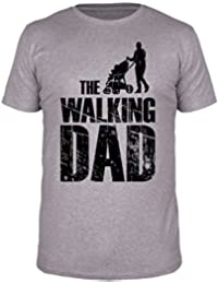 FabTee Walking Dad - Men T-Shirt - Size S-3XL