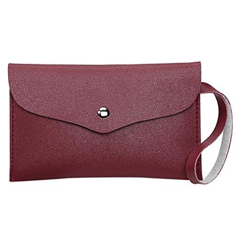 squarex Mode Münze quadratisch Damen Handtasche Tasche Phone Bag Umschlag Staubbeutel (Geldbeutel Staubbeutel)