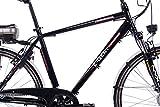 CHRISSON 28″ Zoll CITYRAD ALU Fahrrad E-Bike PEDELEC E-Gent mit 7G Shimano Schwarz 53cm- 71,1 cm (28 Zoll) - 3