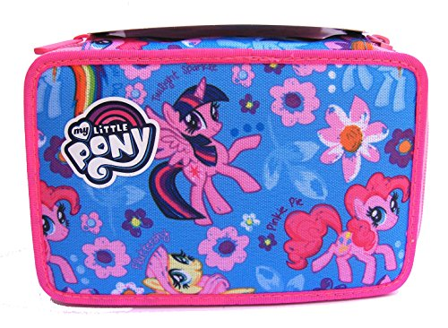 Astuccio 3 scomparti my little pony new seven 2017 contenuto di qualità