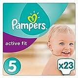 Pampers Active Fit Gr.5, 11-23kg, 23 Windeln, 4er Pack (4 x 23 Stück), 1 Packung = 1 Impfdosis