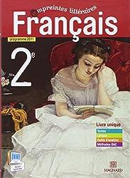 Français 2e empreintes littéraires : Programme 2011