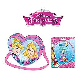 Borsa a tracolla Principesse + Principesse 1 ornamento dei capelli