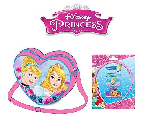 Kostüm Disney Gefrorene - Disney Prinzessin Umhängetasche Prinzessin 1 Haar-Set