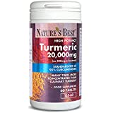 Turmeric 20,000mg - one of The UKs Strongest and purest - 60 Tablets