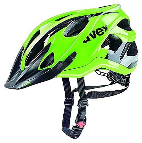 Uvex Erwachsene Stivo c Mountainbikehelm, Green/Black, 56-61