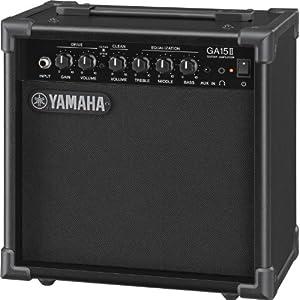 Yamaha GA15II- Amplificatore per Chitarra Elettrica, Nero