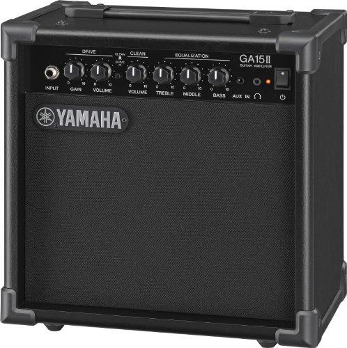 Yamaha GA15II - Amplifier with transistor, black color
