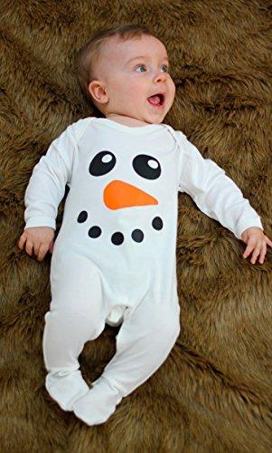 Baby Moo's Baby Mädchen (0-24 Monate) Leggings weiß weiß 6-12 - Frozen Baby Kostüm