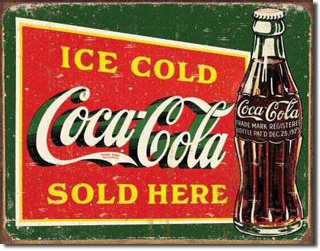 ghiaccio-freddo-coca-cola-venduti-qui-coke-distressed-retro-vintage-tin-sign
