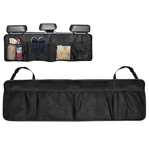 Sasairy organizer sedile organizer per posteriore auto alta capacità organizer sedile posteriore auto multi-tasca universal auto portaoggetti borsa per salva i libri dei giocattoli, ecc