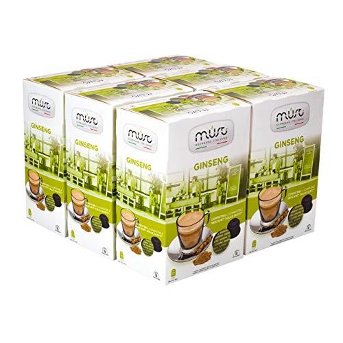 Must Espresso Italiano 96 Capsule Compatibili Dolce Gusto Ginseng - 6 confezioni da 16 capsule