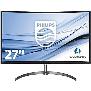 "Philips Monitores 278E8QJAB/00 - Monitor de 27"" (resolución 1920 x 1080 pixels, tecnología WLED, contraste 3000:1, 4 ms, HDMI), color negro"