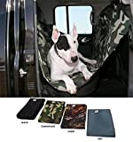 Hundetransport Rücksitzabdeckung (grau)