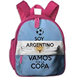 Funny Schoolbag Backpack I'm Going to The Argentine Cup Toddler Kids Pre School Bag Cute 3D Print Children School Backpack