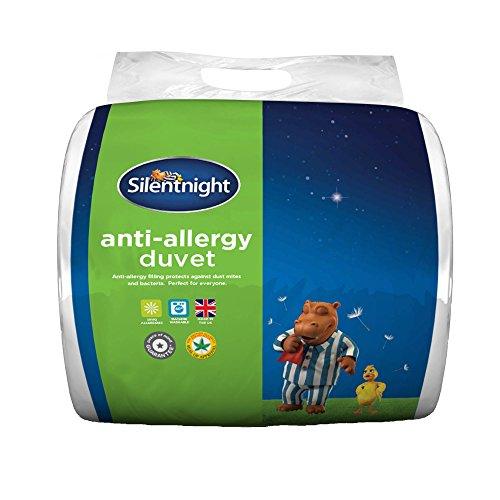 Silentnight Anti Allergy - Edredón de entretiempo de 10,5 tog, algodón poliéster,...
