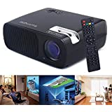 Sourcingbay BL-20 HD LED Projector Cinema Theater Support USB/HDMI/TV or DTV/AV/YPBPR/VGA/Audio Input